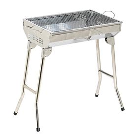 Outdoor & Indoor Foldable Barbecue Grill Medium Size with Legs - Y0222X012