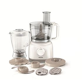 Philips Food Processor 650 Watts White, HR7628