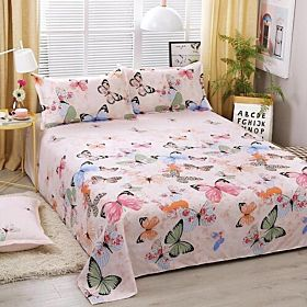 Deals For Less Bedding Set of 3 Pieces, Butterfly Design