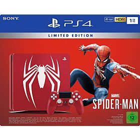 PlayStation 4 Pro 1TB Limited Edition Console - Marvels SpiderMan Bundle