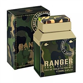 Ranger Army Edition by Emper for Men - Eau de Toilette, 100ml
