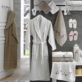 10 PCS 3D FAMILY BATHROBE SET | Made In Turkey