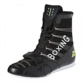 Response Boxing Shoes for Men - Black And White