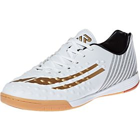 Response Football Shoes for Men, White, Black & Gold