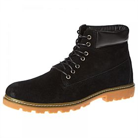 Response Lace Up Boots for Men - Black