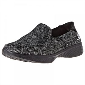 Response Slip On for Women - Black & White