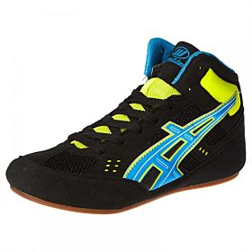 Response Wrestling Shoes for Men - Black and Yellow