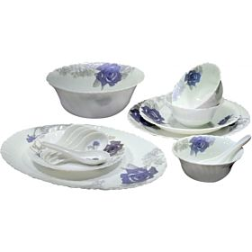 Royal Ford32 Pieces Opal Glassware Dinner Set