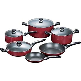 Royalford 10-Piece Cookware Set RF-2007CS10