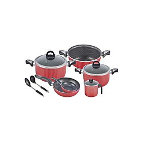 Royalford 11-Piece Non-Stick Cookware Set RF6624