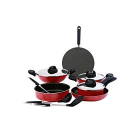 Royalford 12-Piece Non-Stick Cookware Set