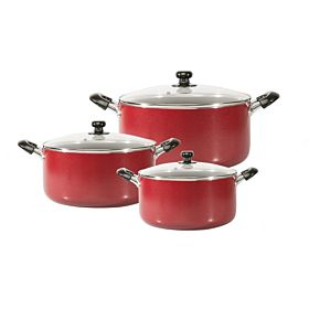 Royalford 6-Piece Cooking Pot Set RF2005