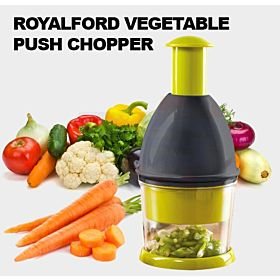 Royalford Vegetable Push Chopper Green 500g RF8746