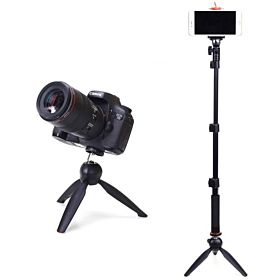 Yunteng 1288 + 228 Selfie Stick Monopod Tripod with Bluetooth Remote Shutter for IOS and Android