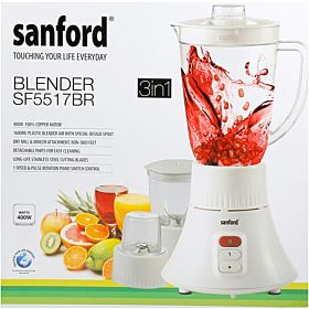 Sanford 3 In 1 Juicer Blender, SF5517BR BS