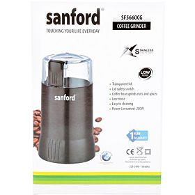 Sanford Coffee Grinder, SF5660CG BS