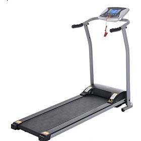 Marshal Fitness Home Foldable Running & Walking Machine Mini Home Treadmill - SPKt-666, Multi Color