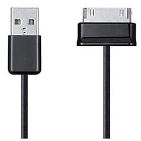 New Black USB Data Sync Charger Cable for Samsung Galaxy Tab Tablet 7 8.9 10.1 / P7500 / 4 P1000 / P5100 / P6800 / P3100 / P6200 by Samsung