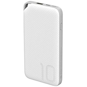 Huawei 10000 mAh Quick Charge Wired Power Bank for Mobile Phones - AP08Q, White