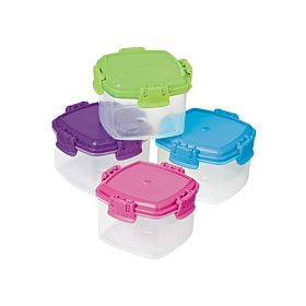 Sistema 4-Piece Knick Knack Container Set Multi Color