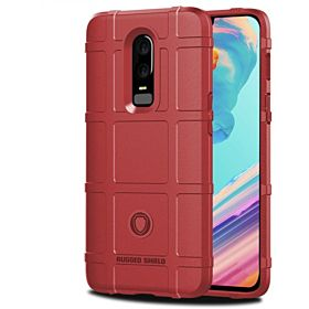 Silicone Bumper Frame Cover For Oneplus 6 Case One Plus 6 Case Cover Soft Thin Rubber Case For Oneplus 6 Cover Oneplus6 Cases Red