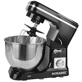 Sonashi 5l Stainless Steel Hand Mixer - Smx-140