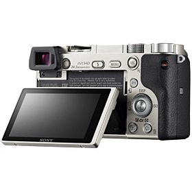 Sony Alpha a6000 Mirrorless Digital Camera - 24 MP, 16-50mm Lens, Silver