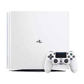 Sony PlayStation 4 Pro - 1TB, 1 Controller , White