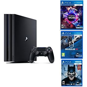 Sony PlayStation 4 Pro 1TB + 3 PSVR Games
