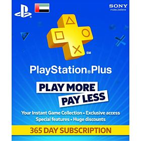 Sony PlayStation Network Card - 1 Year Membership, UAE Account