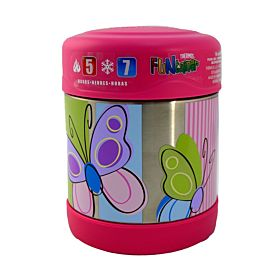 Stainless Steel Food Container Pink 194780