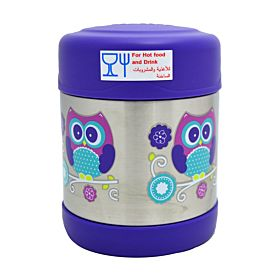 Stainless Steel Food Container Purple 194796