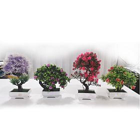 4 PCs Table Tree Tree Office Home Table Office for Wealth Luck,Best Gift