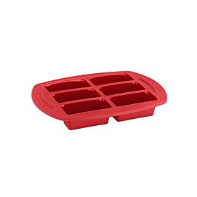 Tefal 7-Mold Pro flex Mini Brioches Molds Bake ware Red 25 cm