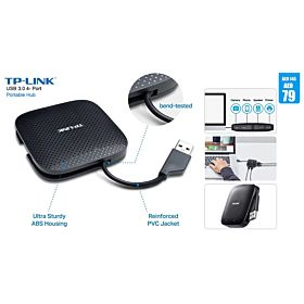TP Link USB 3.0 4- Port Portable Hub