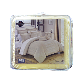 Carolin embroidery  comforter imperial 8pcs sets-yellow