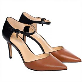 Coach Brown, Black Heel For Women