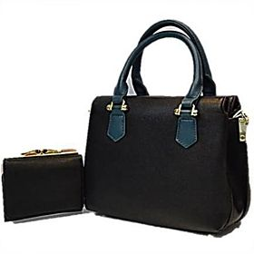 Susen Handbag with wallet & extra belt