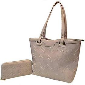 Susen Bag For Women,Pink - Handbags Sets