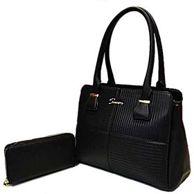 Susen Bag For Women,Black - Handbags Sets