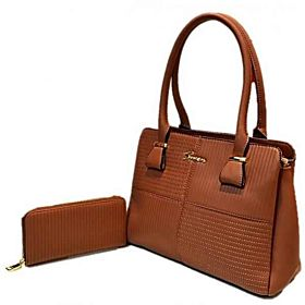 Susen Bag For Women,Brown - Handbags Sets