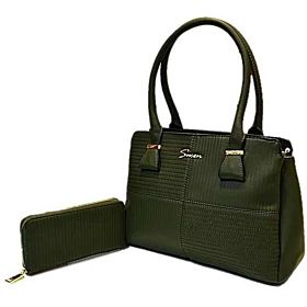 Susen Bag For Women,Military Green - Handbags Sets
