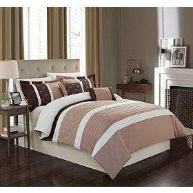 Carolin home linen 8 pcs comforter sets | Venice-03