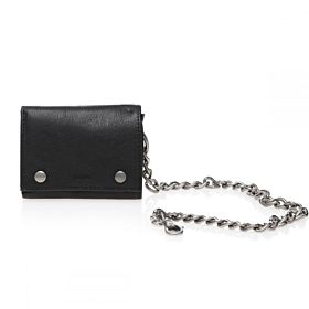 Levi's Men's Trifold Leather Wallet with Chain [31LV1188]
