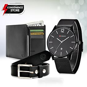 watches, Leather Belt, Leather Wallets
