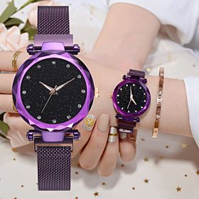 Buy 2 Get 1 Luxury Stylish Magnetic Buckle Casual Wristwatch