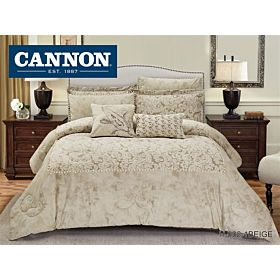 CANNON COMFORTER KING 8PC HOLLAND VELVET