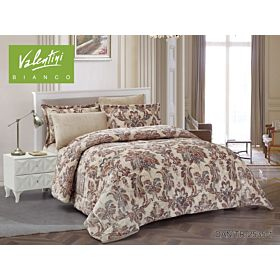 VALENTINI COMFORTER KING 7PC FLANNEL PRINTED