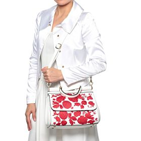 Arcad Shoulder Bag For Women, 30774, White