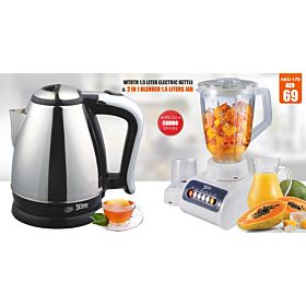 Wtrtr 2 in 1 Blender  + Wtrtr electric kettle,WTR-KE2016